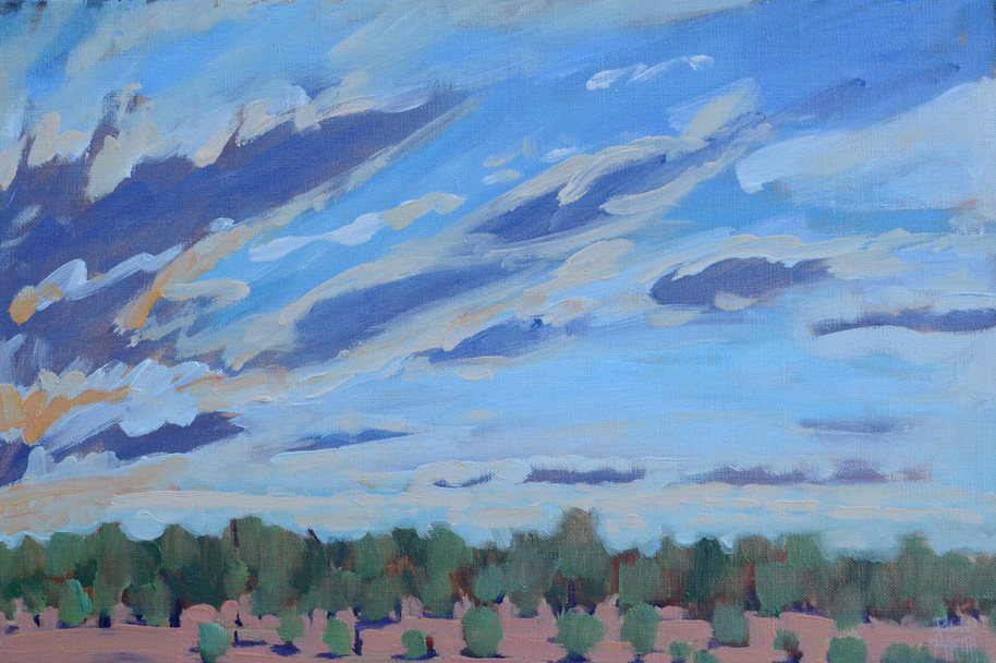 Yowah Sunset (Plein Air)