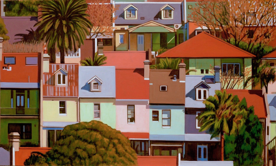 SOLD - Red Rooves