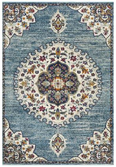 Rug Traditional Babylon Blue