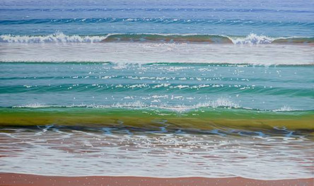 SOLD - Shorebreak and Wave No.2