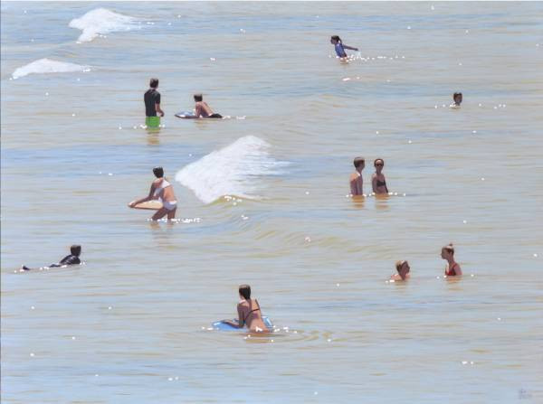SOLD - Bathers No.4