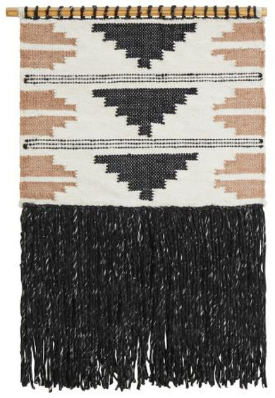 Rug Wall Hanging Black & Nude