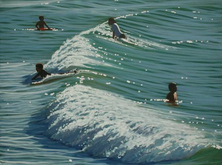 SOLD - Catching Waves No.2