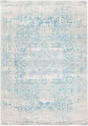 Rug Modern Evoke White Blue
