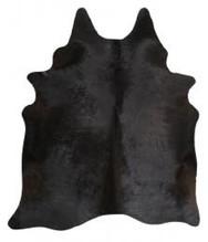 Rug Cowhide Black