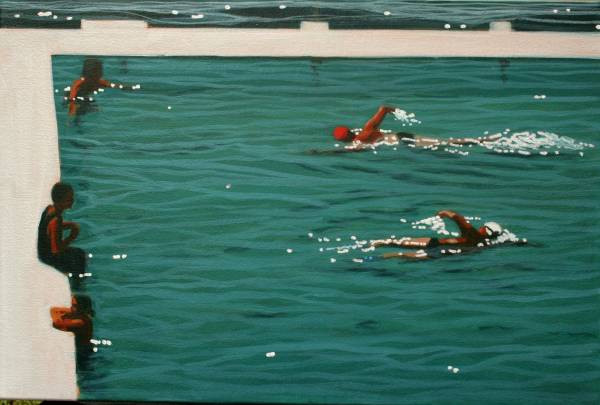 SOLD - Lap Swimmers
