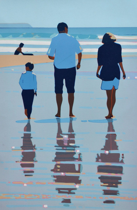 SOLD - Beach Walking
