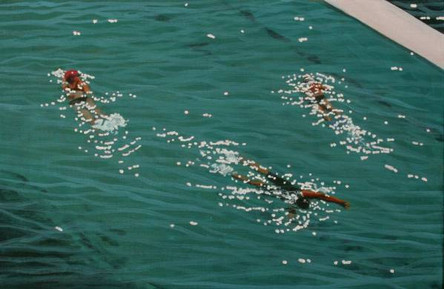 SOLD - Lap Swimmers No.2