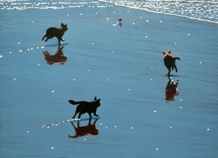 SOLD - Three Dogs