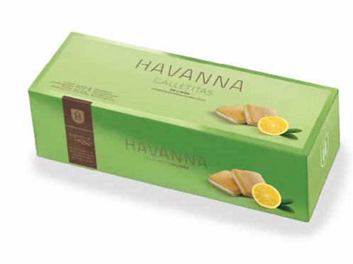 Havanna Biscuits with Lemon Filling