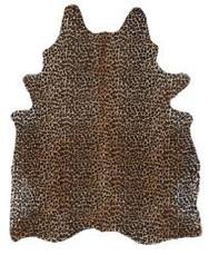 Rug Cowhide Cheetah