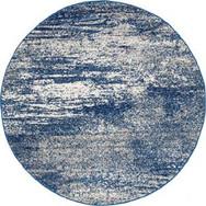 Rug Round Mirage 55 Blue