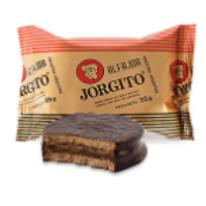Jorgito Alfajor Chocolate con Dulce de Leche