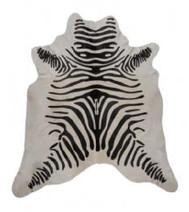 Rug Cowhide Zebra