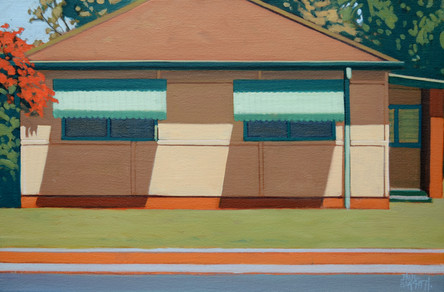 SOLD - Green Awnings