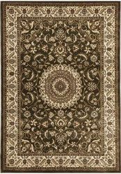 Rug Traditional Sydney Green Ivory