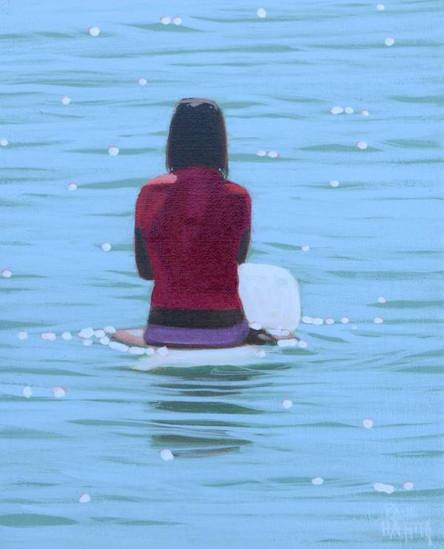 SOLD - Water Figure No.2