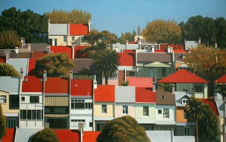 SOLD - Rooftops and Trees