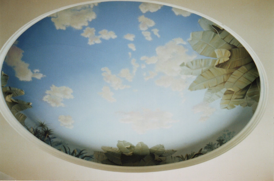 Ceiling Mural Mustafa Palace Copy