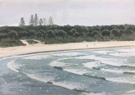 SOLD - Rolling Waves