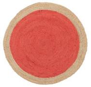 Rug Round Atrium Cherry