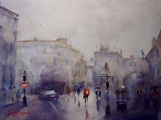 Rainy Day in Bath