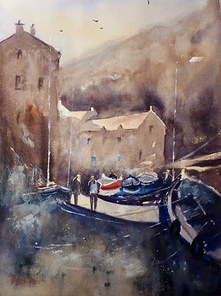 Going Fishing, Staithes
