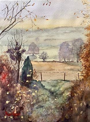 Autumn Approaching, Ammerdown Somerset