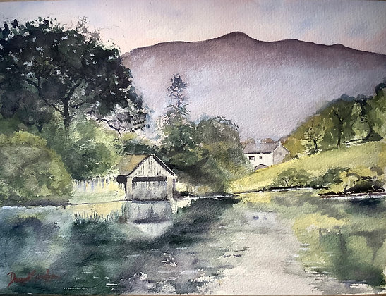 In Wordsworth Country, Rydal Water, Lake District