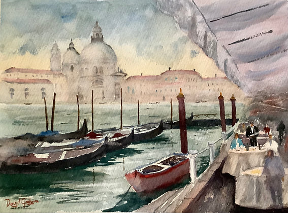 Lunch with a View, Venice