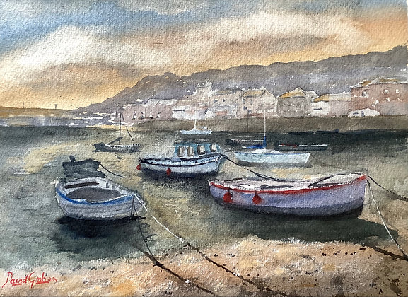 Low Tide, Mousehole, Cornwall