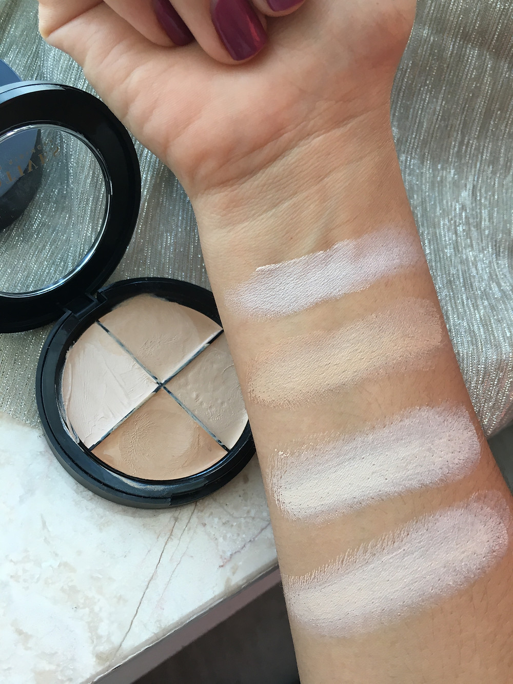 Highlight and Contour Makeup