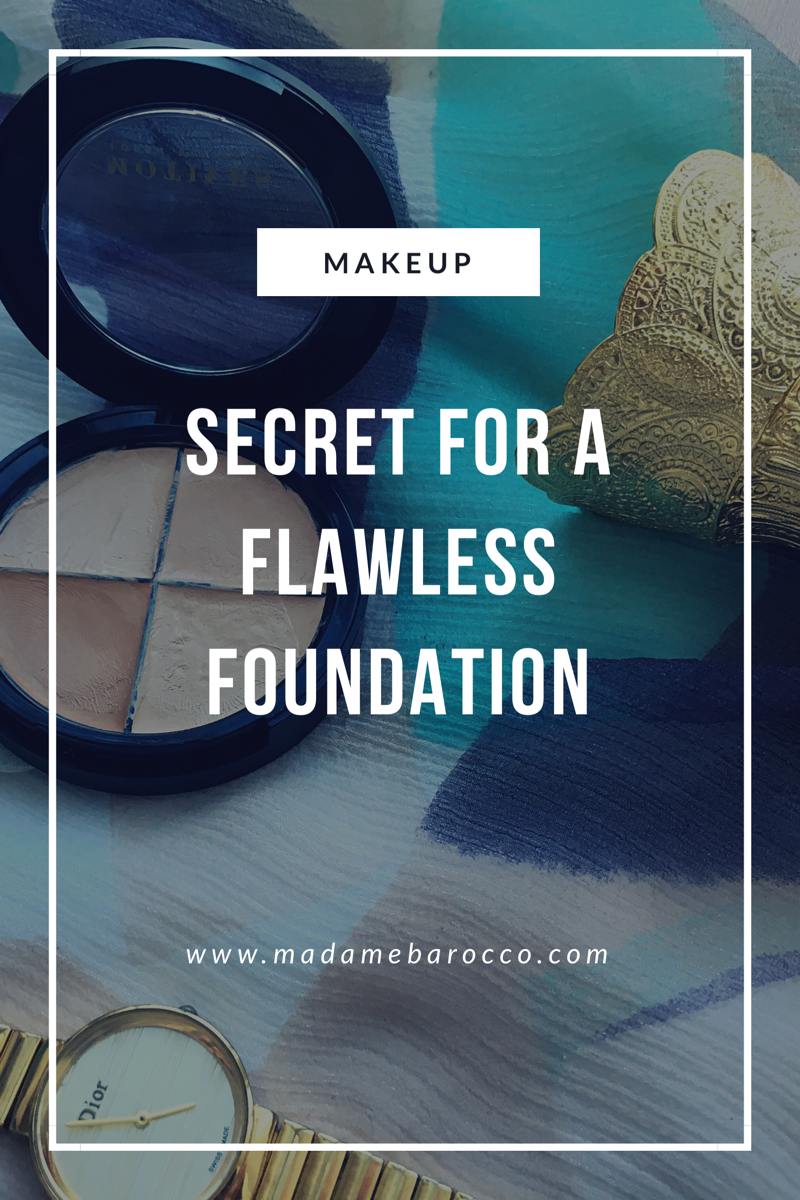 Secret for a Flawless Foundation
