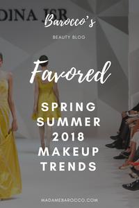 Spring Summer 2018 Makeup Trends