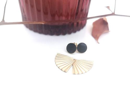 """Petites boucles d'oreilles modulables """"event"""" DAHLIA"""