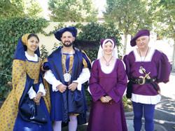Costumes des élèves du lycée