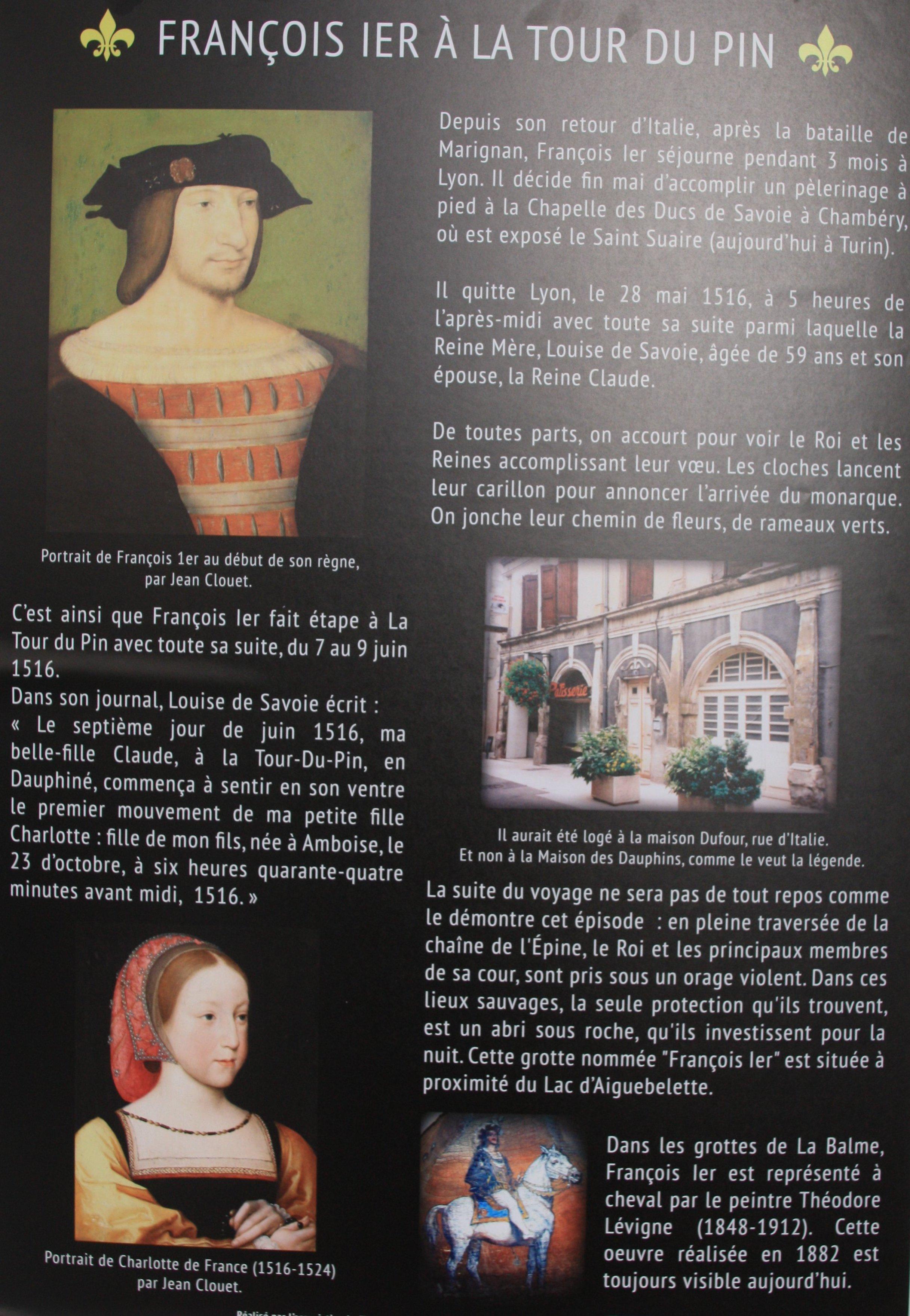 François 1er à La Tour
