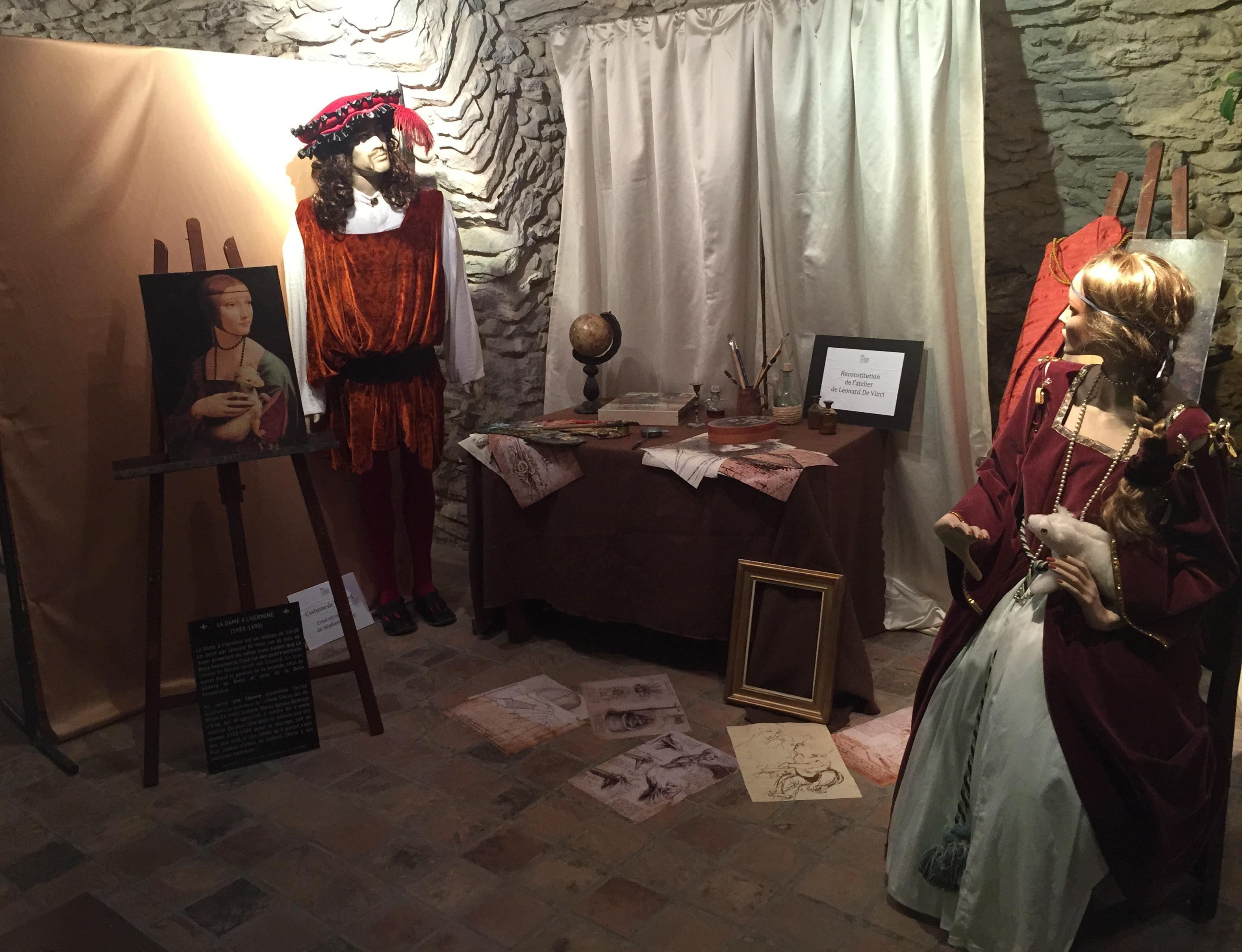 Atelier de Léonard De Vinci