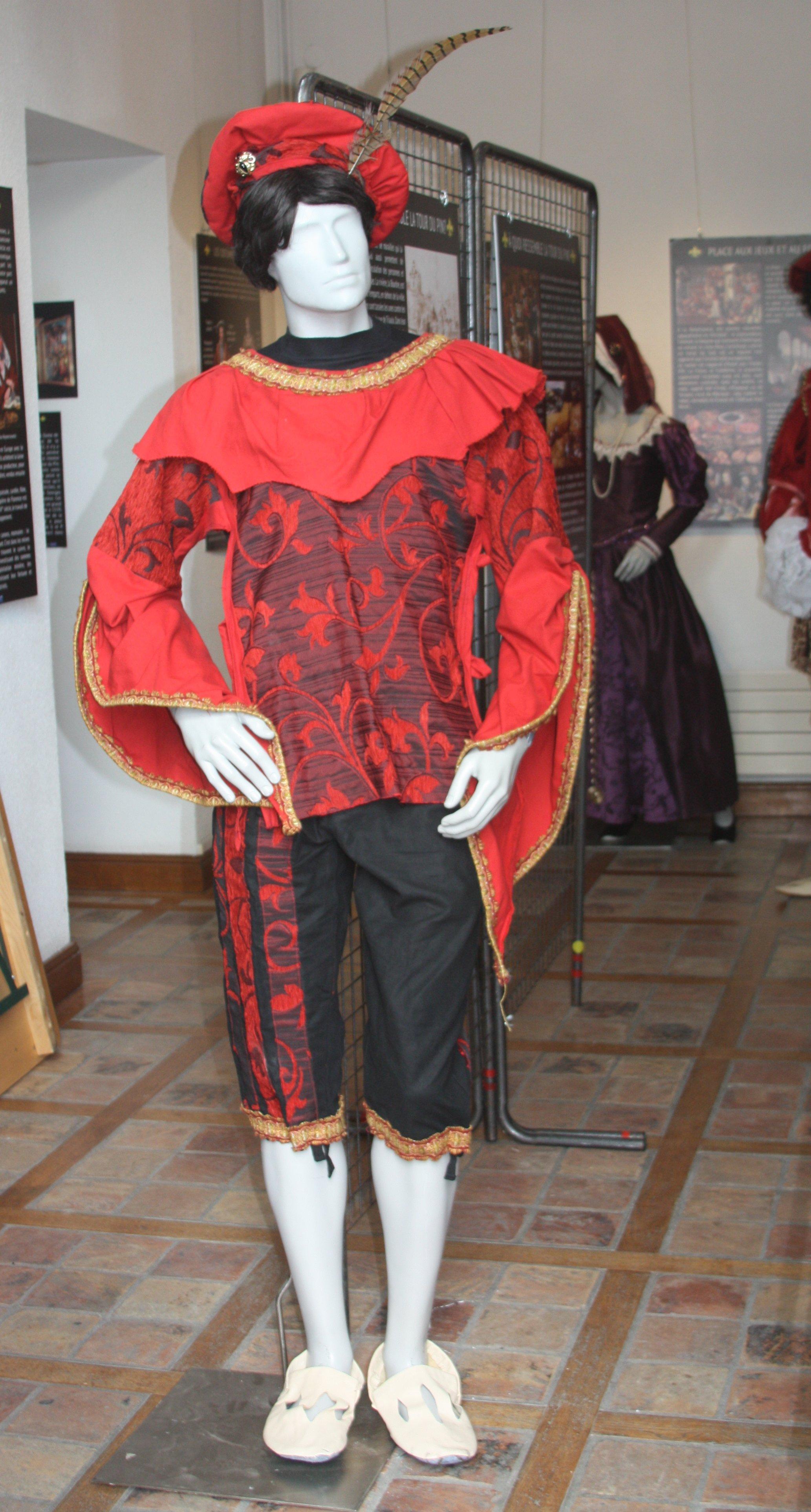 Costume masculin