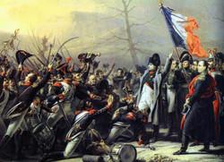 Retour de Napoléon de l'île d'Elbe en février 1815, Charles Baron von Steuben, 1818