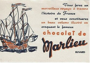 Buvard-Chocolat-De-Marlieu-Bateau-Blotti