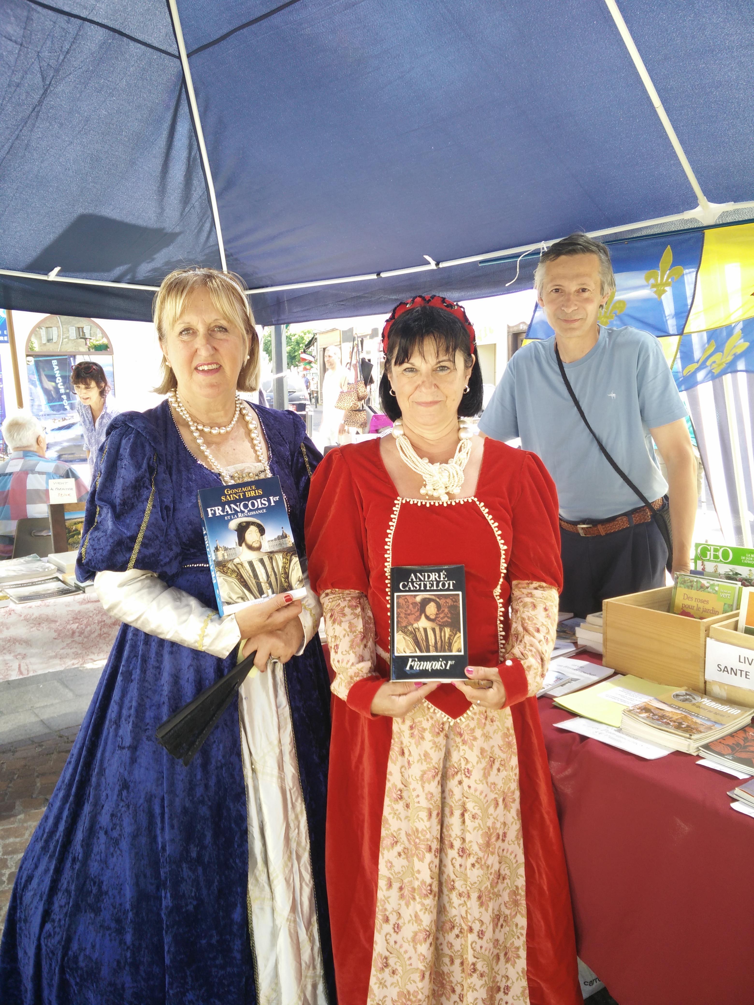Annie, Chantal et Olivier