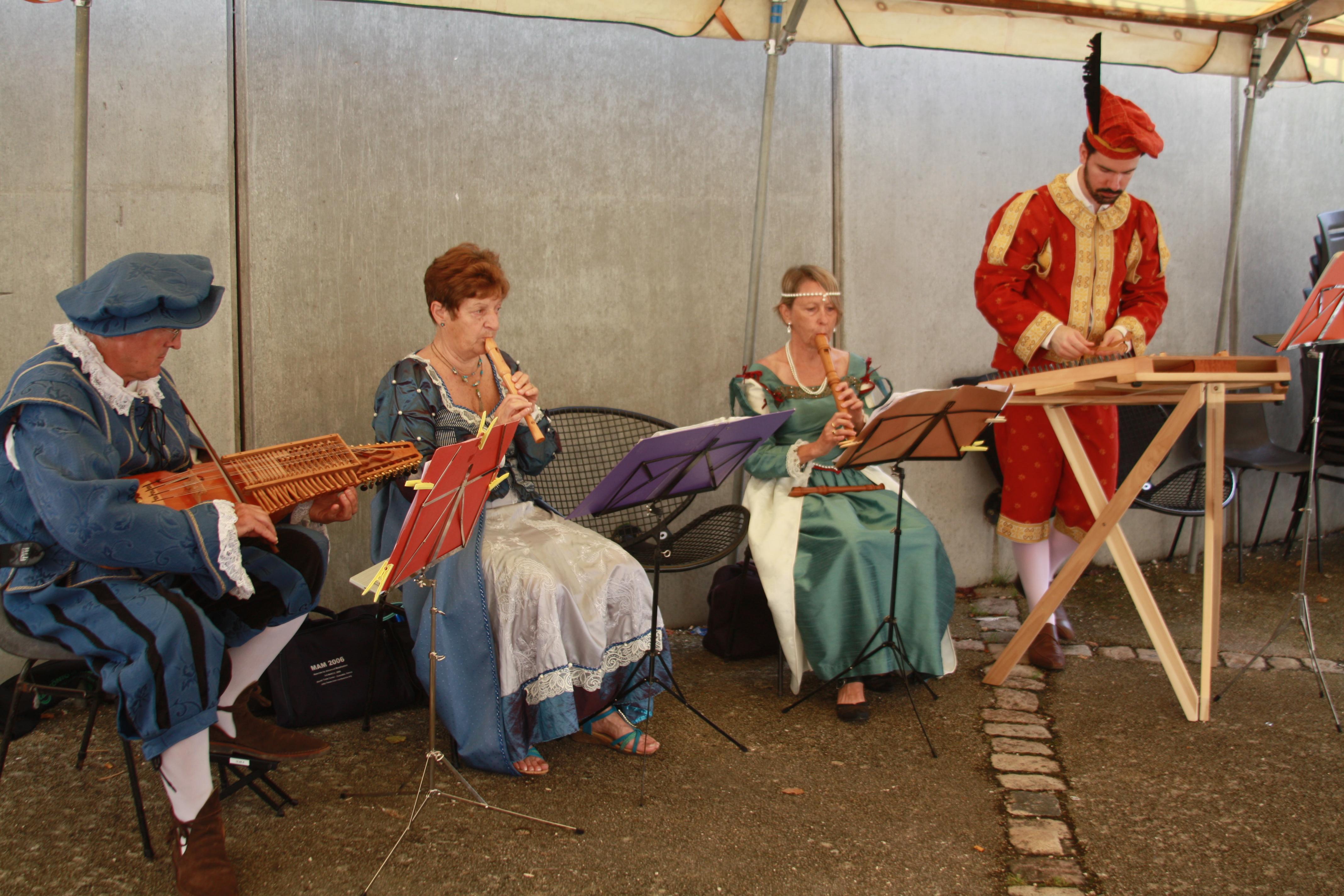 Musiciens des Dam'Oiseaux