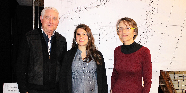 jean Micard, Elodie Ferier et Arlette Perrin