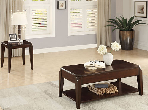Sikeston Collection Table Set (w/ two End Table) by Homelegance