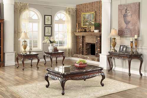 Mariacarla Collection Table Set (w/ two End Table) by Homelegance