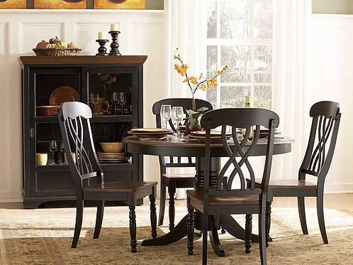 Ohana Collection 5 Piece Table Set by Homelegance