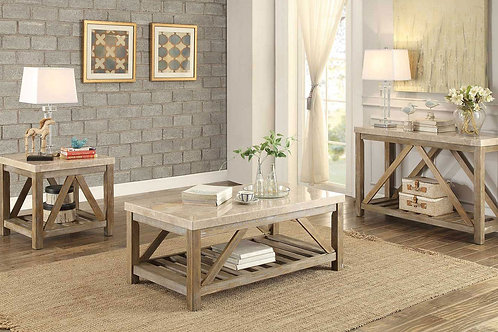 Ridley Collection Table Set (w/ two End Table) by Homelegance