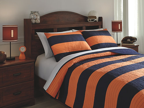 Nixon 3-Piece Full Coverlet Set