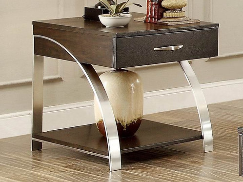 Tioga Collection End Table by Homelegance